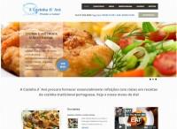 Criação de site para a Restaurante Cozinha da Avó