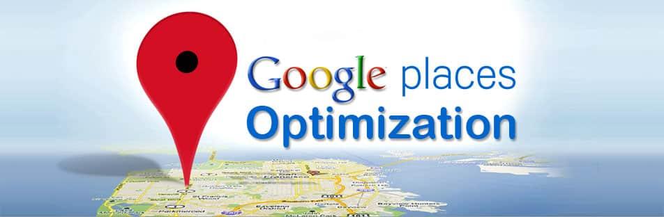 Criamos as suas contas Google places e maps