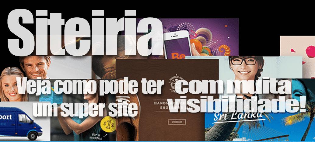 Fazer site…como devo proceder Siteiria Criação de sites