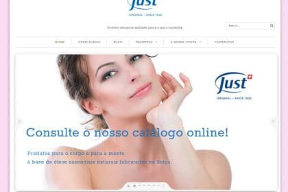 Siteiria Cria site para a Just Portugal
