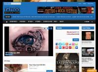 Construção e criação de sites para Estúdios de Tatuagens