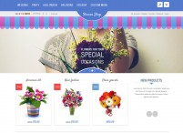 Desenvolvimento de site apelativo dinâmico para Floriculturas
