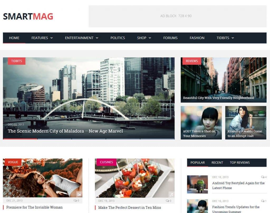 Desenvolvimento de site para Jornais Revistas Publicações
