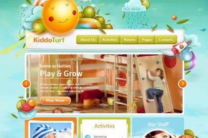 Criação de sites para creches, infantários e jardim escola