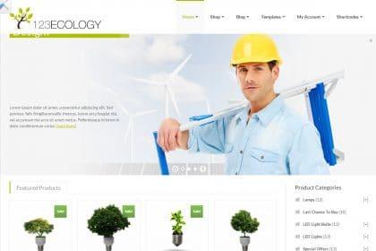 Desenvolvimento de sites para energias renovaveis