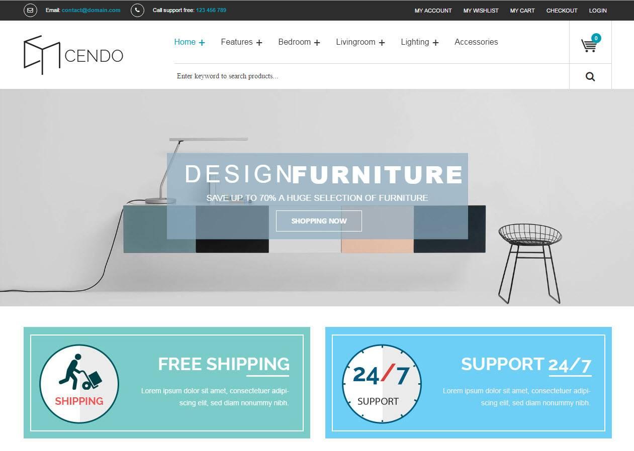Desenvolvimento de sites para loja de Mobiliário e Casa