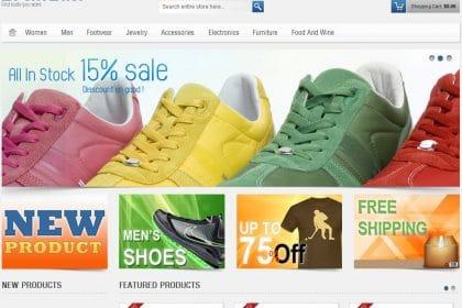 Criação de sites para lojas de Artigos de Desporto