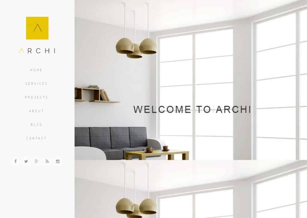 Desenvolvimento de sites para Arquitectura e Arquitectos