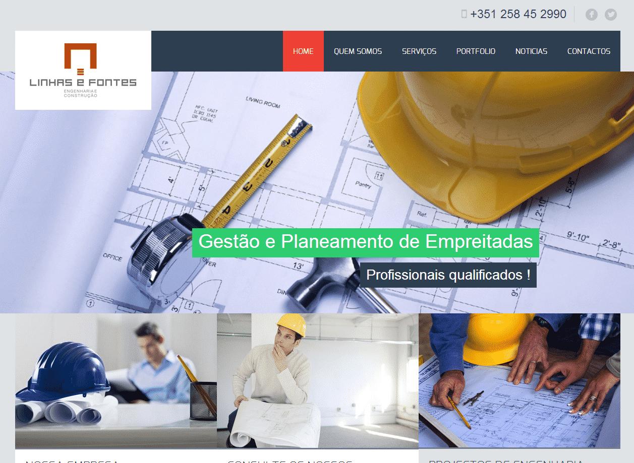 Desenvolvimento e criação sites para construção civil