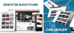 Criação de sites para Stand de Automóveis