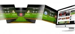 Criação de sites para clubes de futebol e escolas de futebol