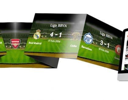 Criação de sites para clubes de futebol escolas de futebol