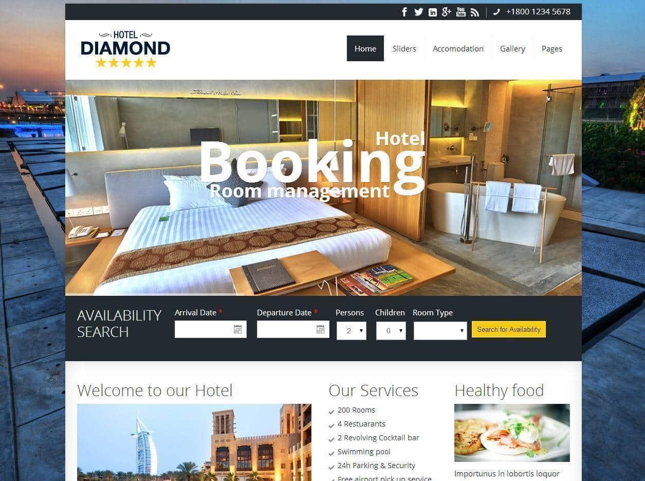 Desenvolvimento de Sites para Hoteis, Móteis, Hostel