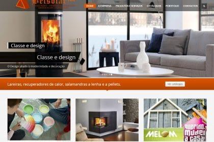 Construção e Criação de site Empresa Belsolar