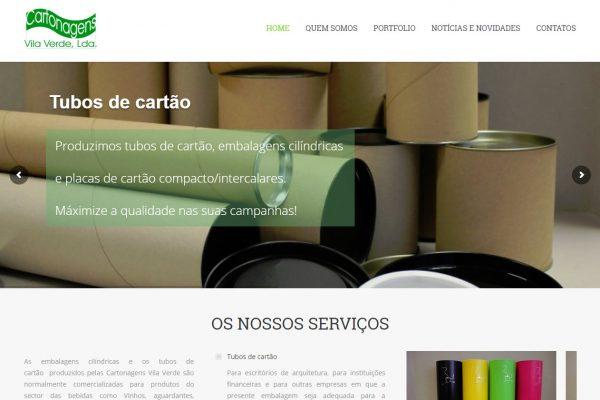 Criação e construção de site para CARTONAGENS VILA VERDE (4)