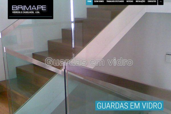 Desenvolvimento de Site Vidraria Brimape2