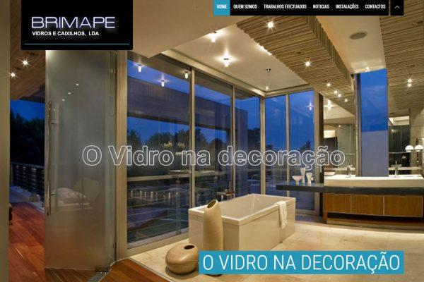 Desenvolvimento de Site Vidraria Brimape3