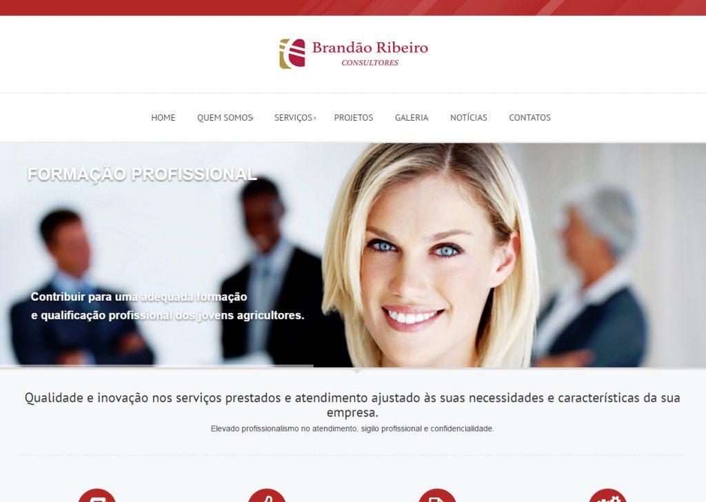 Desenvolvimento de site para Empresas Brandão Ribeiro Consultores