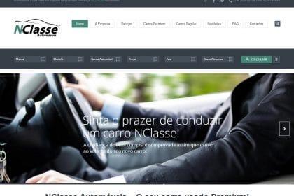 NCLASSE AUTOMÓVEIS - STAND AUTO