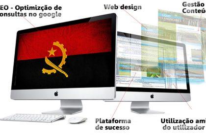 Criação e desenvolvimento de sites para empresas em Angola