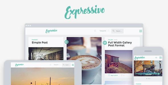 Expressivo - Template para Blog