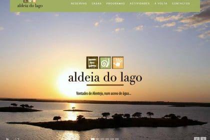 Criação de site para Aldeia do Lago