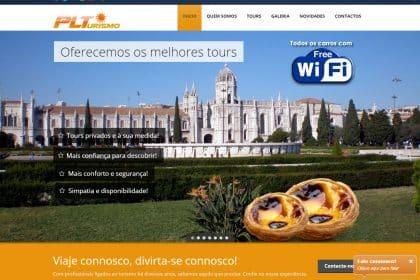 Criação de Site para PL Turismo