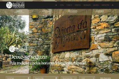Criação de Site para Hotel
