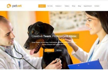 Criação de sites para Clinica Veterinária