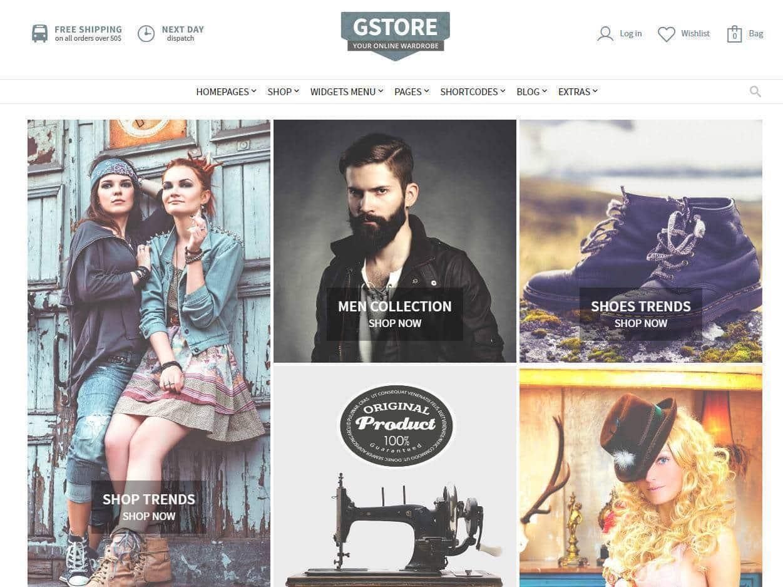Criação e construção de Lojas Online para Moda