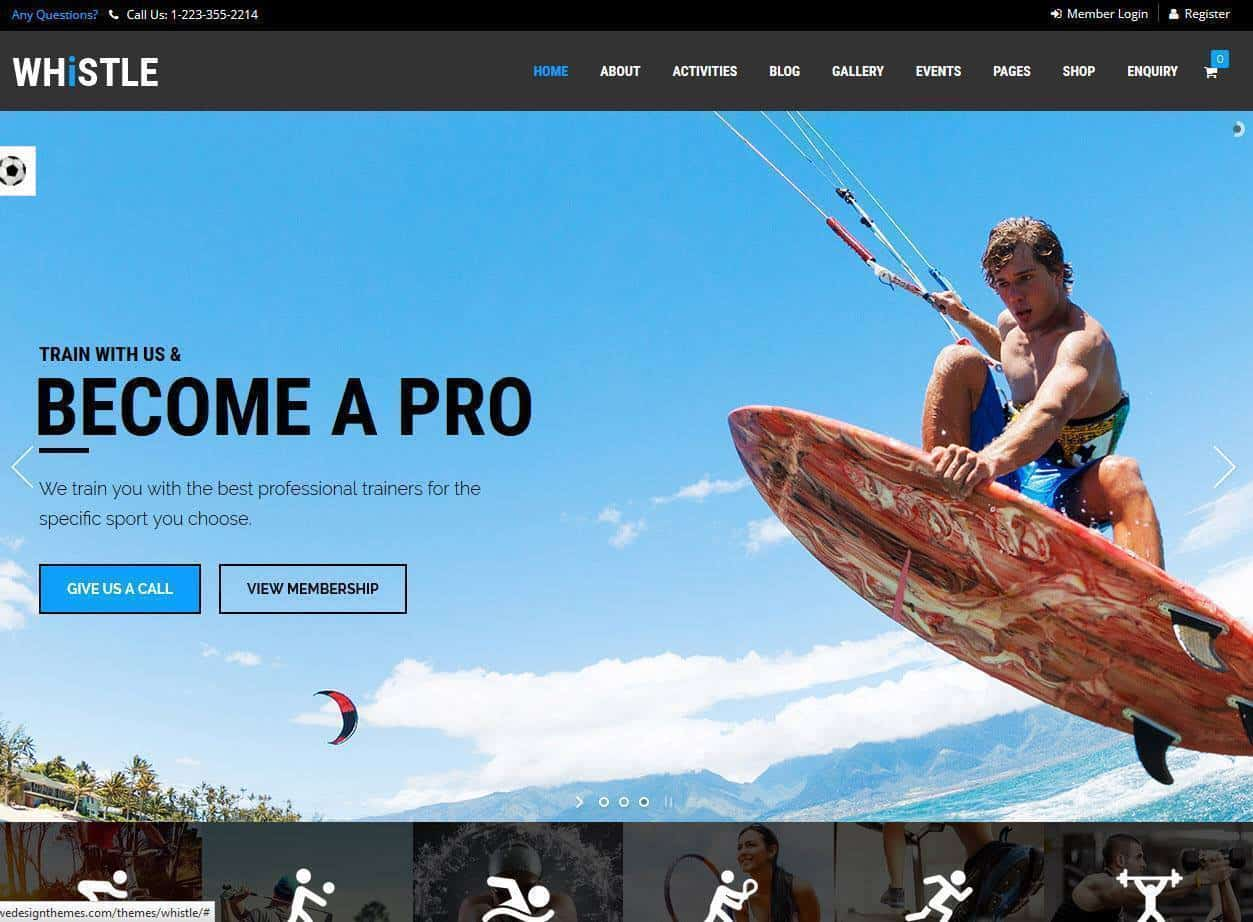 criação e construção de sites venda de suplementos desportivos