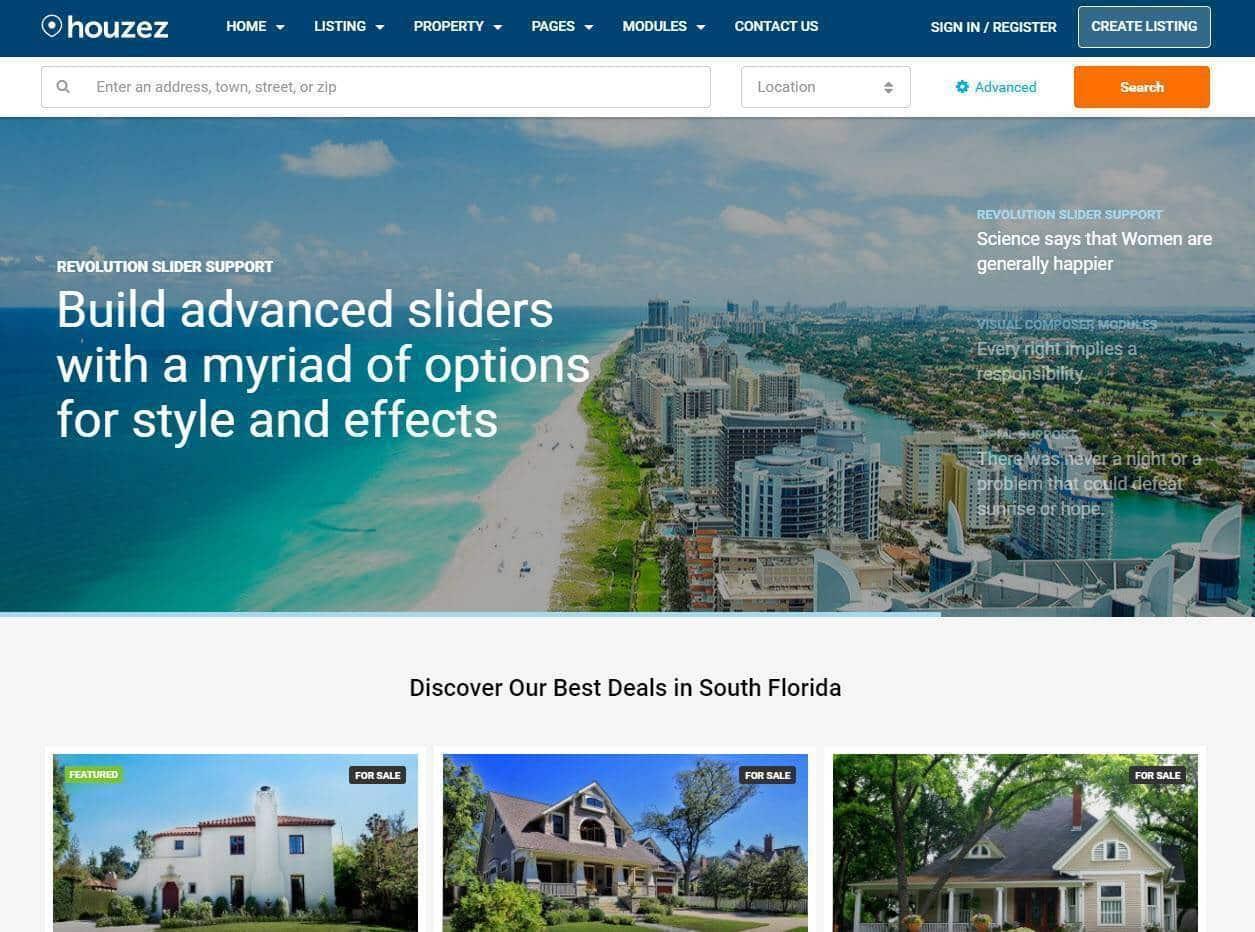 Criação e construção de sites para imobiliárias