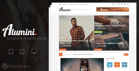 Criação de Sites para jornais e publicações - Alumini