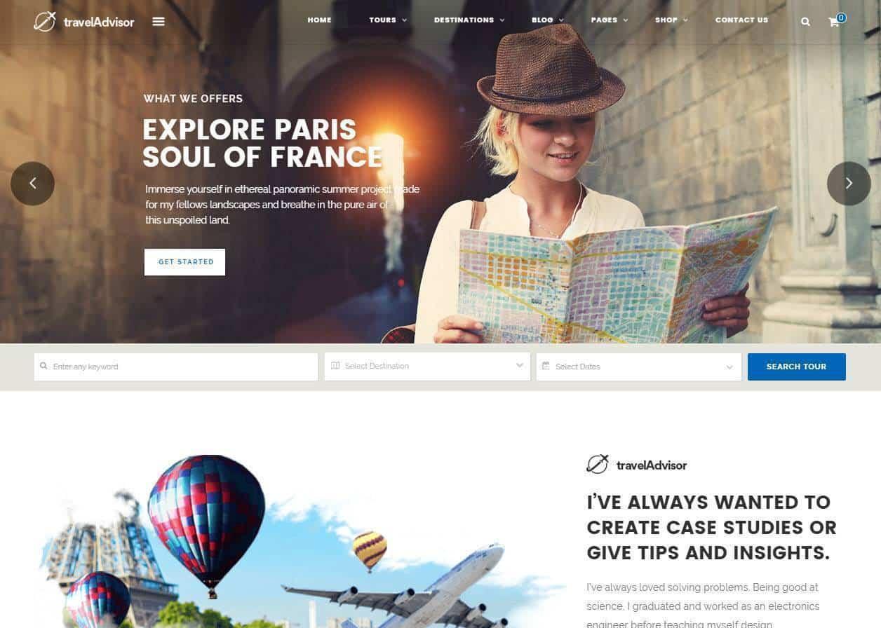Criação de sites para agências de viagens