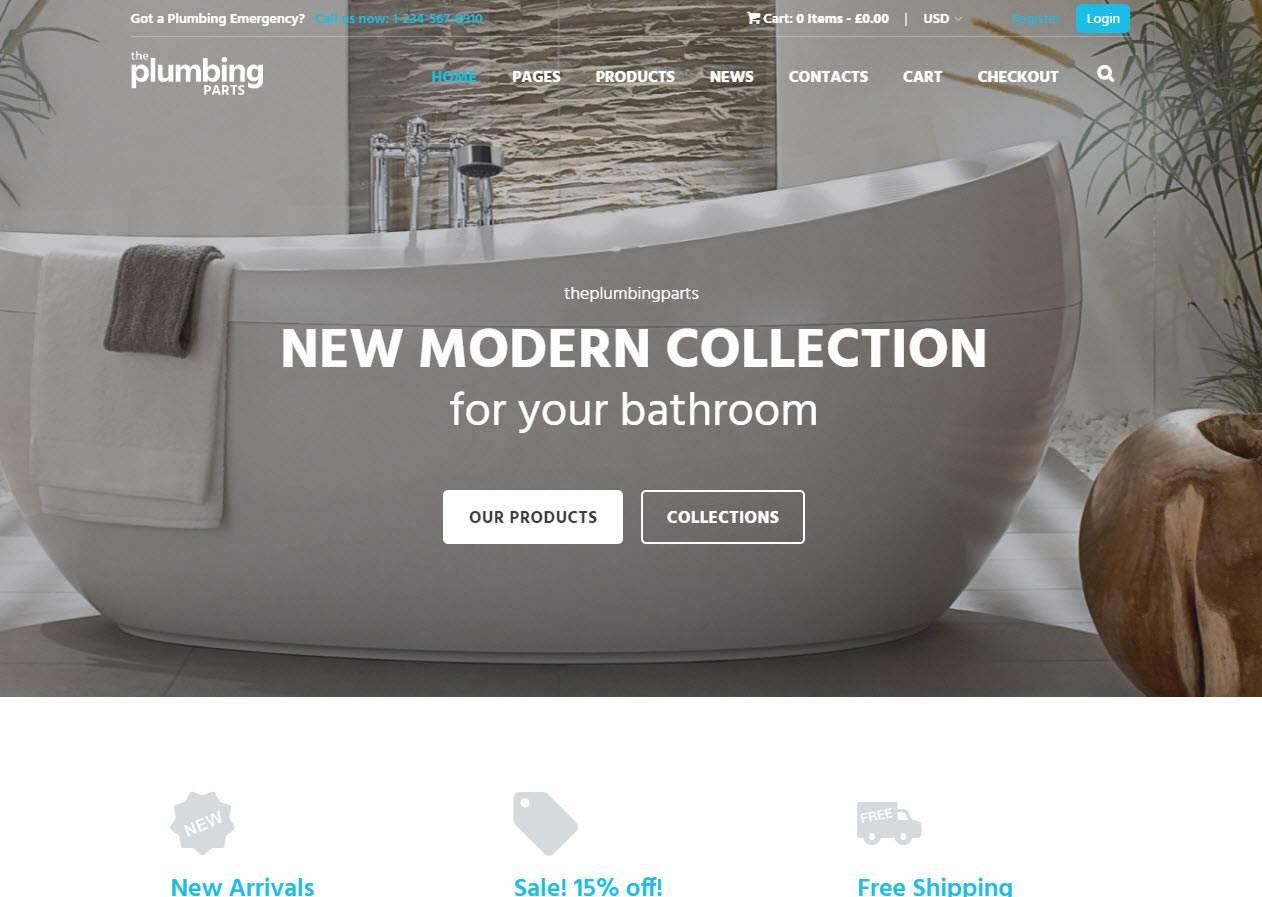 Criacao de lojas online casa materiais moveis