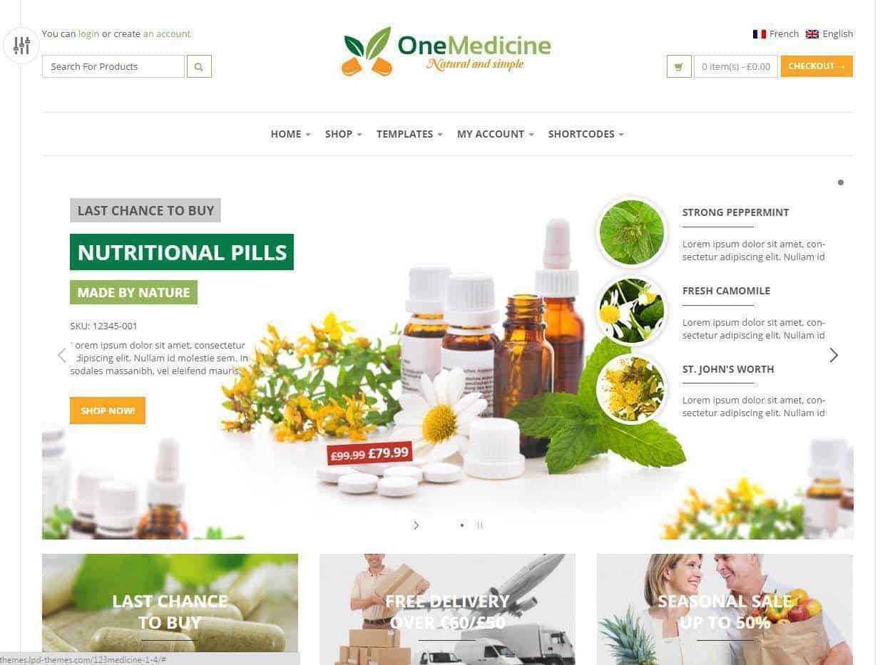 Lojas Online para Produtos Naturais