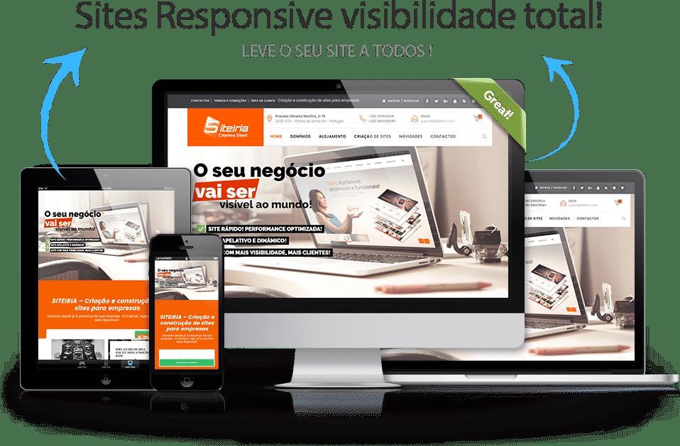 Sites com visibilidade que aparecem no google SITEIRIA