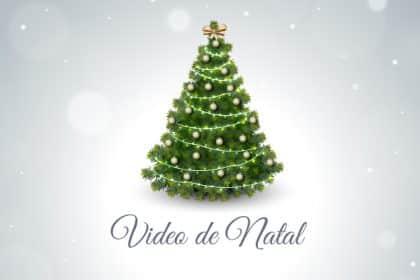 Criação de vídeos de Natal