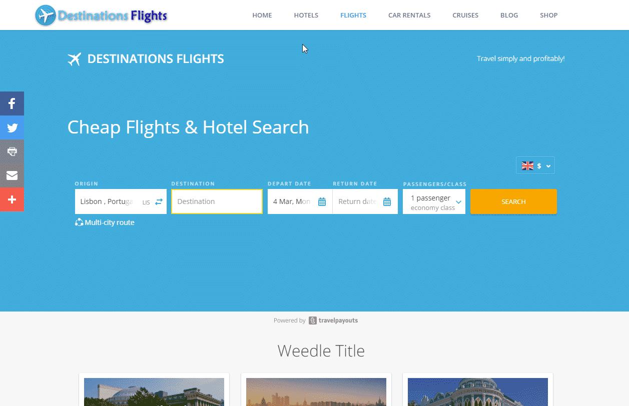 destinations flights2