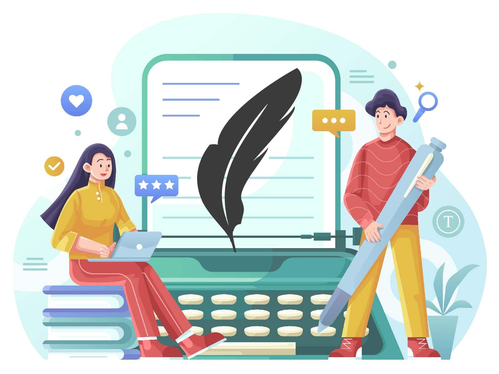 Criação de conteúdo para sites e redes sociais